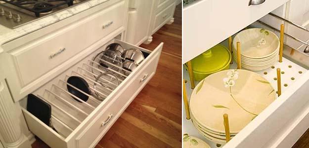 разделители для кухонных ящиков
