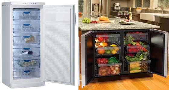 способ установки морозильной камеры