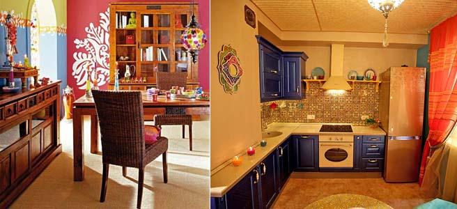 кухня в индийском стиле