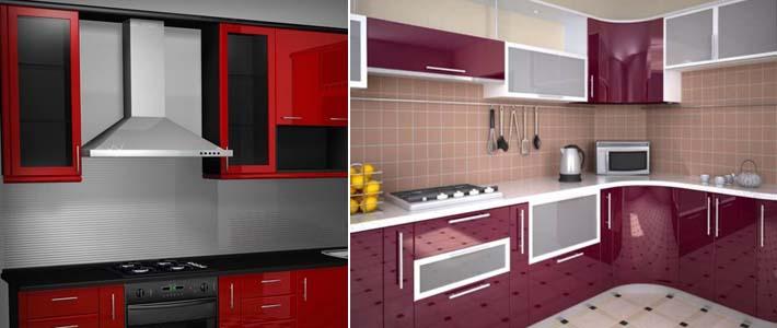 размещение модулей и техники на кухне