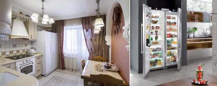выбор холодильника side by side