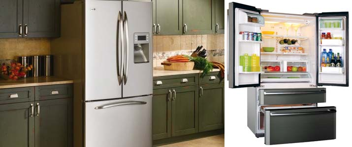 холодильники френч дор