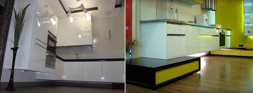 конструкция подвесной кухни