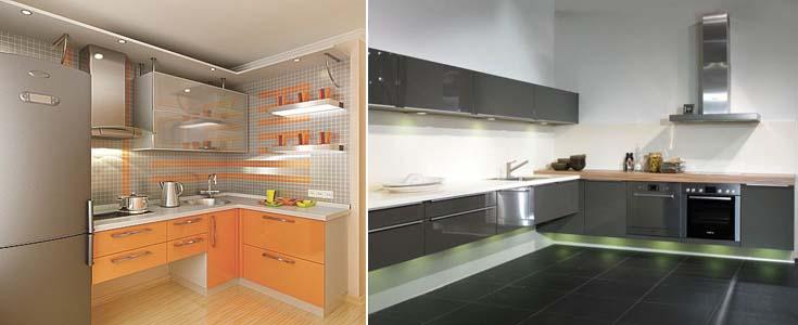 подвесная кухня
