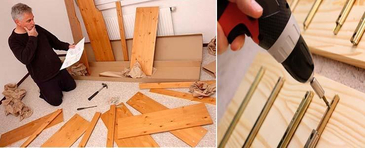 советы по сборке мебели для кухни