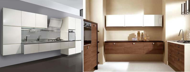 подвесной кухонный гарнитур