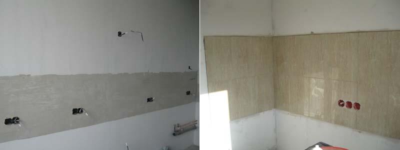 подготовка кухонного помещения