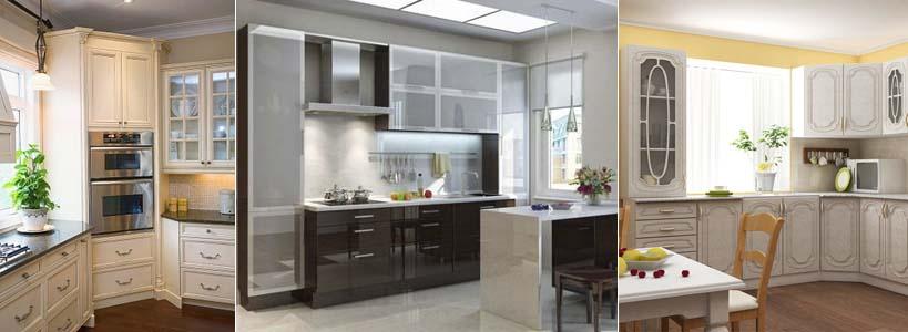 Шкафы пеналы на кухне