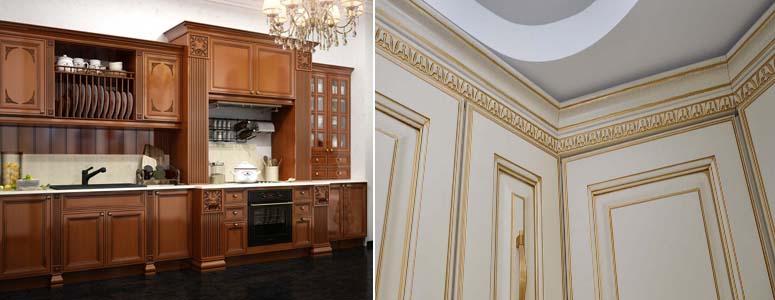 мебельные карнизы для кухни