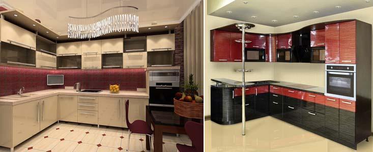карнизы кухонных гарнитуров
