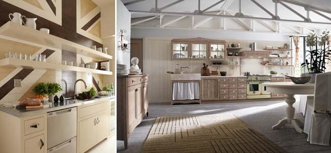 панели буазери на кухне