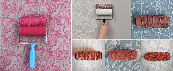 декоративный валик для стен