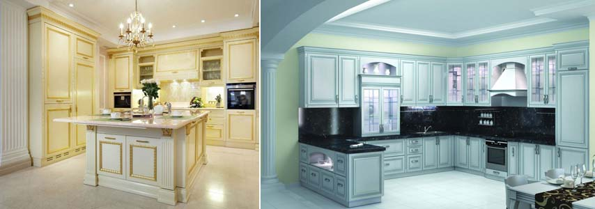классицизм на кухне