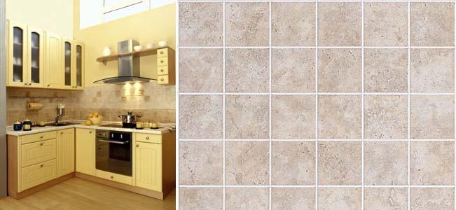 выбор кухонных панелей под плитку