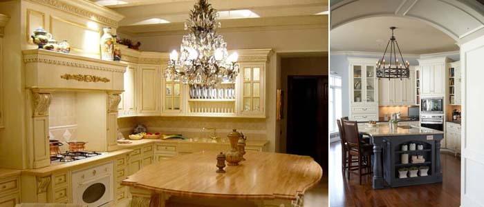 кухня цвета слоновая кость