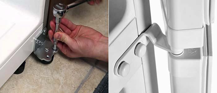 перенавеска двери холодильника