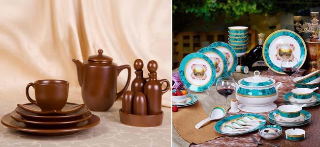 виды керамической посуды