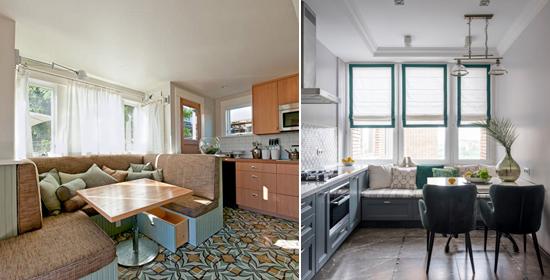как выбрать диван для кухни
